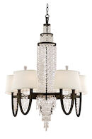 VICEROY 10-LIGHT CHANDELIER, Royal Bronze, medium