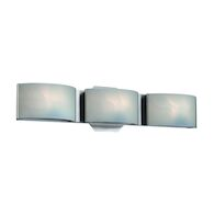 DAKOTA 3-LIGHT LED VANITY LIGHT, Chrome, medium