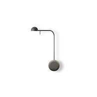 PIN 2700K LED WALL SCONCE LIGHT, 1680, Black, medium