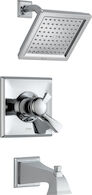 DRYDEN MONITOR 17 SERIES TUB AND SHOWER TRIM, Chrome, medium