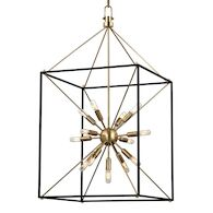 GLENDALE 13-LIGHT CHANDELIER, 8920, Aged Brass, medium