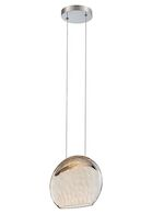 LOLLI LED PENDANT 2700K, Chrome, medium