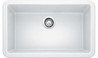 IKON 30 APRON KITCHEN SINK, White, medium