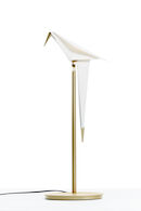PERCH LIGHT TABLE LAMP, Brass, medium