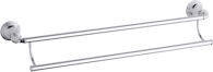 DEVONSHIRE® 24-INCH DOUBLE TOWEL BAR, Polished Chrome, medium