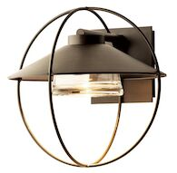 HALO SMALL OUTDOOR SCONCE, Coastal Dark Smoke, medium