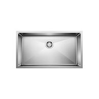 QUATRUS R15 UNDERMOUNT SUPER SINGLE BOWL SINK, Stainless Steel, medium