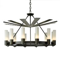 PICCADILLY 12-LIGHT CHANDELIER, Dark Smoke, medium