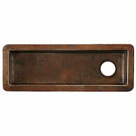 RIO CHICO 30-INCH BAR & PREP SINK, Antique Copper, medium