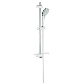 EUPHORIA 110 DUO SHOWER RAIL SYSTEM, StarLight Chrome, large