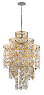 AMBROSIA 11-LIGHT PENDANT, Gold Leaf, medium