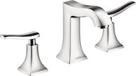 METRIS C WIDESPREAD FAUCET, Chrome, medium