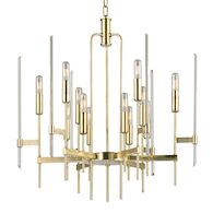 BARI 12-LIGHT CHANDELIER, 9912, Aged Brass, medium