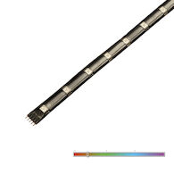 INVISILED PALETTE 1' 24V RGB COLOR TAPE LIGHT SYSTEM, White, medium