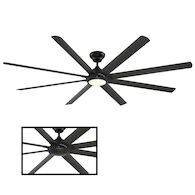 HYDRA 96-INCH 3000K LED CEILING FAN, Bronze, medium