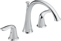 LAHARA ROMAN TUB TRIM FAUCET, Chrome, medium