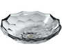 BRIOLETTE™ VESSEL FACETED GLASS BATHROOM SINK, Ice, small