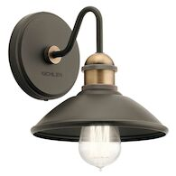 CLYDE 1-LIGHT WALL SCONCE, Olde Bronze, medium