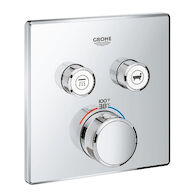 GROHTHERM SMARTCONTROL DUAL FUNCTION THERMOSTATIC TRIM WITH CONTROL MODULE, StarLight Chrome, medium