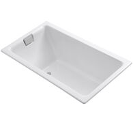 TEA-FOR-TWO® 66 X 36 INCHES DROP IN OR UNDERMOUNT BATHTUB, White, medium