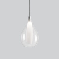 VICTORIA 3000K LED PENDANT LIGHT, PD3005, Chrome, medium