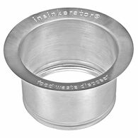 EXTENDED SINK FLANGE, Stainless Steel, medium