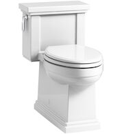 TRESHAM® COMFORT HEIGHT® ONE-PIECE COMPACT ELONGATED 1.28 GPF TOILET WITH AQUAPISTON® FLUSH TECHNOLOGY, White, medium