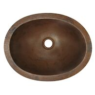 BABY CLASSIC 15.75-INCH UNDERMOUNT BATHROOM SINK, CPS38, Antique Copper, medium