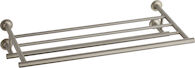 PURIST® TOWEL SHELF, Vibrant Brushed Nickel, medium