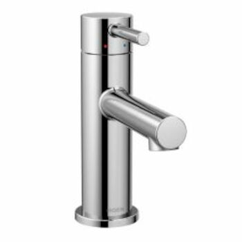 ALIGN ONE-HANDLE LOW ARC BATHROOM FAUCET, Chrome, large