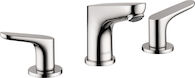FOCUS 100 WIDESPREAD FAUCET, Chrome, medium