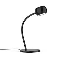 FLUX 15-INCH LED TABLE LAMP, Gloss Black, medium