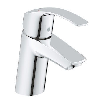 EUROSMART BATHROOM SINK FAUCET WITHOUT POP-UP, StarLight Chrome, large