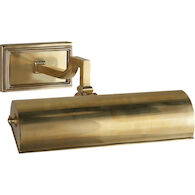 ALEXA HAMPTON DEAN 11-INCH PICTURE WALL LIGHT, Natural Brass, medium