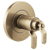LITZE TEMPASSURE® THERMOSTATIC VALVE ONLY TRIM - LESS HANDLES, Luxe Gold, medium