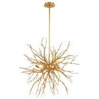 ABERDEEN 35-INCH ROUND CHANDELIER, 35639, Gold Leaf, medium