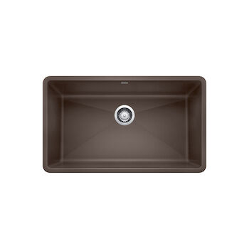PRECIS UNDERMOUNT SUPER SINGLE KITCHEN SINK, Café, large