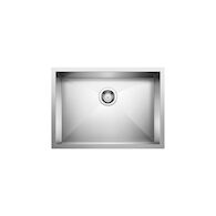 QUATRUS UNDERMOUNT SINGLE BOWL KITCHEN SINK, Stainless Steel, medium