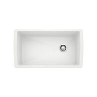 DIAMOND SUPER SINGLE UNDERMOUNT SINK, White, medium