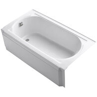 MEMOIRS® 60 X 32 INCHES ALCOVE BATHTUB, White, medium