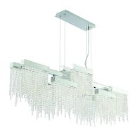 ROSSI 10-LIGHT LED CHANDELIER, Chrome, medium