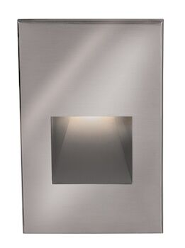 LEDme® VERTICAL STEP AND WALL LIGHT, Stainless Steel, large