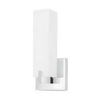 STRATFORD 3000K LED WALL SCONCE, Chrome, medium