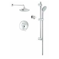 COSMOPOLITAN PRESSURE BALANCE VALVE SHOWER KIT, StarLight Chrome, medium