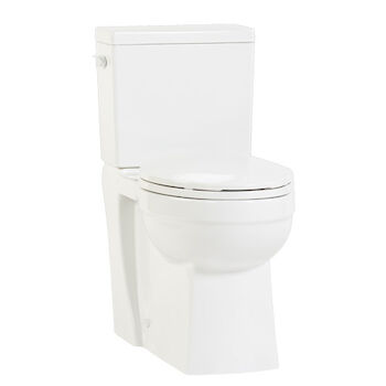 CAYLA CONCEALED TWO-PIECE ELONGATED TOILET BOWL, , large