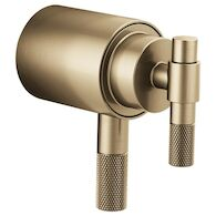 LITZE TEMPASSURE® THERMOSTATIC TRIM HANDLE KIT - T-LEVER, Luxe Gold, medium