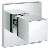 EUROCUBE VOLUME CONTROL TRIM, StarLight Chrome, medium