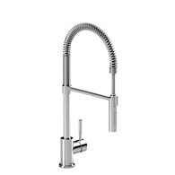 KITCHEN FAUCET WITH 2-JET HAND SPRAY, Chrome, medium