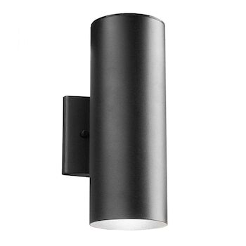 12-INCH 3000K UP AND DOWN LED OUTDOOR WALL LIGHT, Textured Black, large