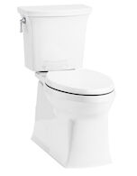 CORBELLE® COMFORT HEIGHT® TWO-PIECE ELONGATED 1.28 GPF TOILET, White, medium